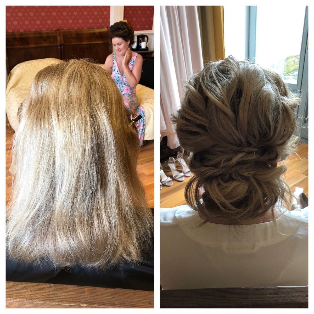 Before and After - Hair and Makeup - Gemma Sutton1