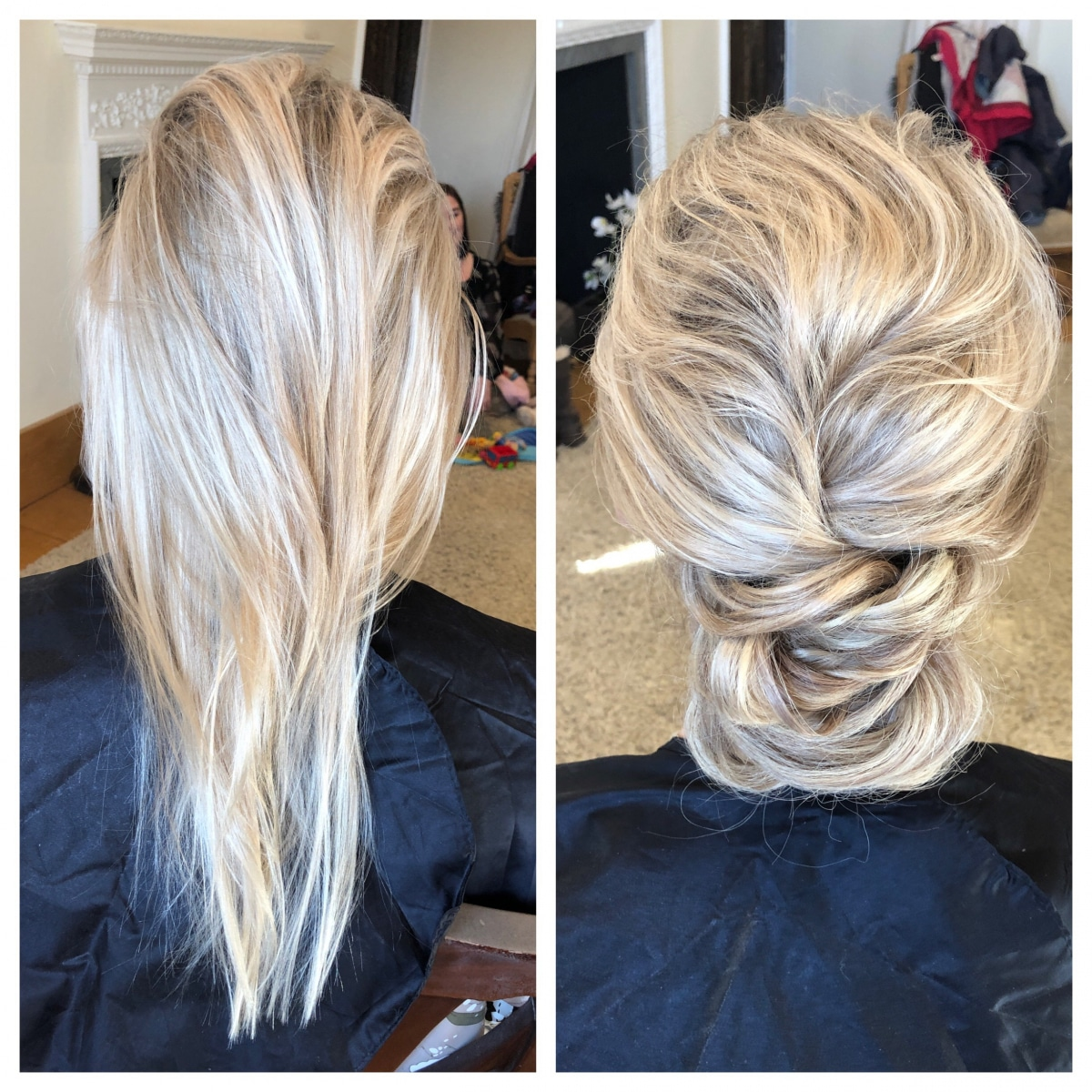 before and after - Gemma Sutton