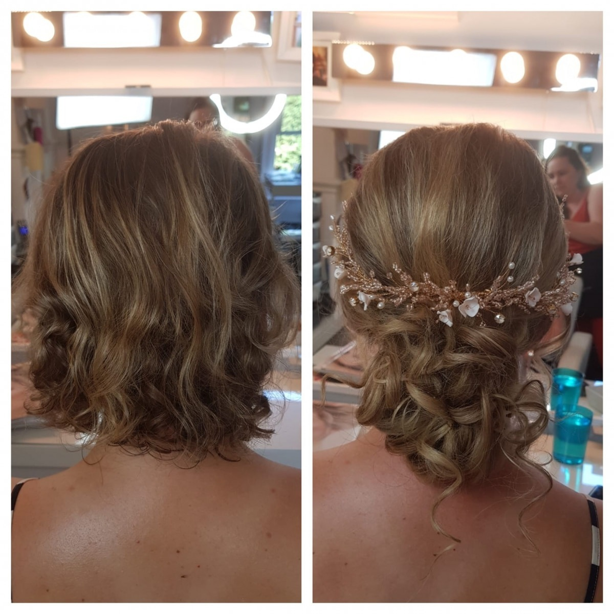Before and After Wedding Hair - Gemma Sutton Pro Team xx