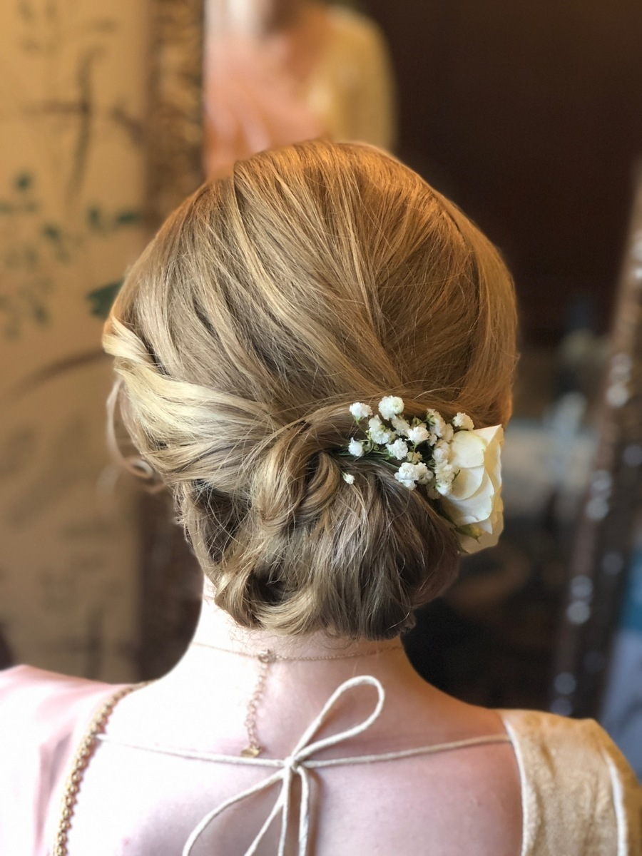 Bridesmaid Hair - Gemma Sutton Pro Team .