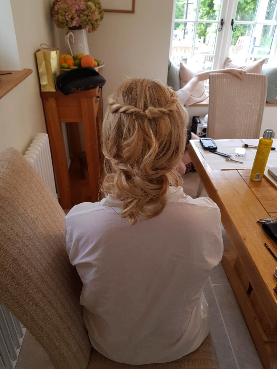 Bridesmaids hair by Gemma Sutton Pro Team