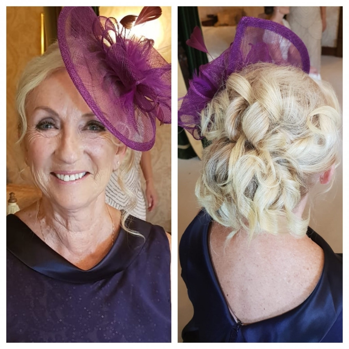Mother of the bride - Makeup and Hair - Gemma Sutton Pro Team.