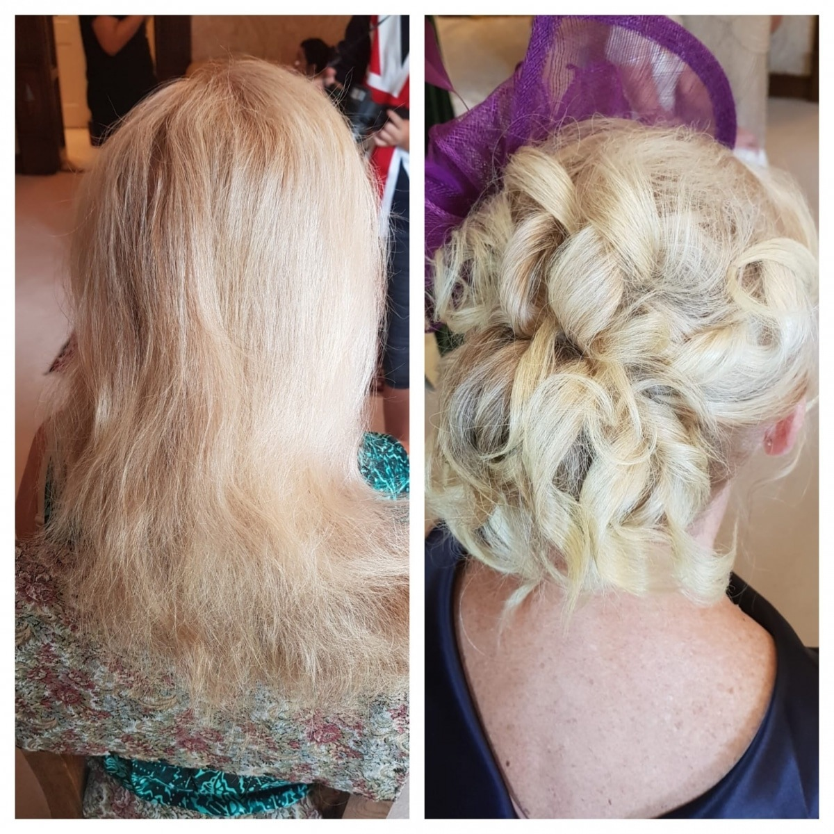 mother of the bride hair - Gemma Sutton Pro Team
