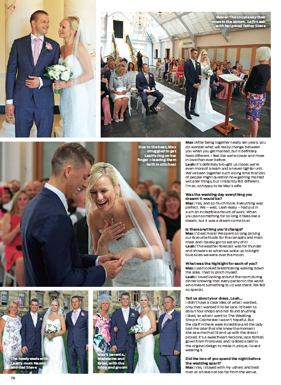 Fran Met The Lovely Leah And Max At One Of Our Weekly Wedding Events Bijou Venue S Botleys Mansion If You Re Considering Getting Married Has Some