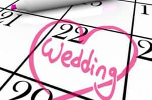 Got your wedding date- book now