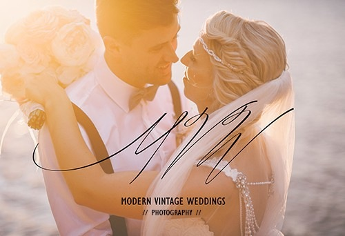 Modern Vintage Wedding Photography