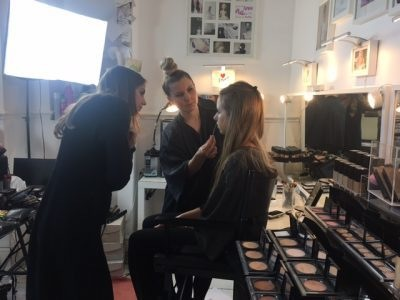 Training day at the Gemma Sutton studio - makeup and hair artist. - Gemma Sutton Pro Team