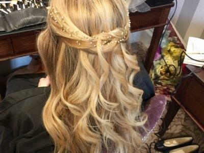 gemma sutton wedding hair accessions - wedding hair and makeup - surrey brides